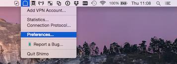 Setup PPTP VPN in MacOS