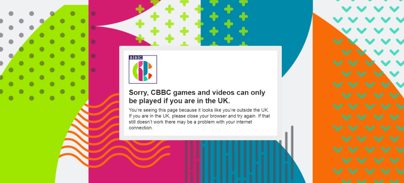 How to Unblock CBBC in US or other country outside UK